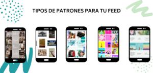 patrones para tu feed de instagram