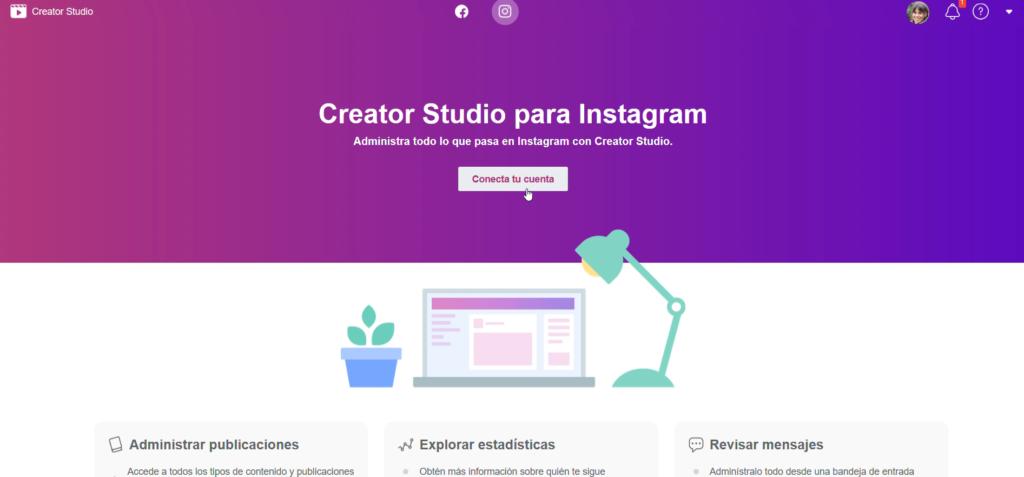 Programar y publicar post en Instagram