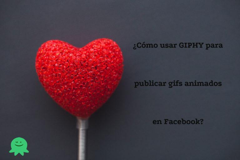 Subir un gif animado en Facebook