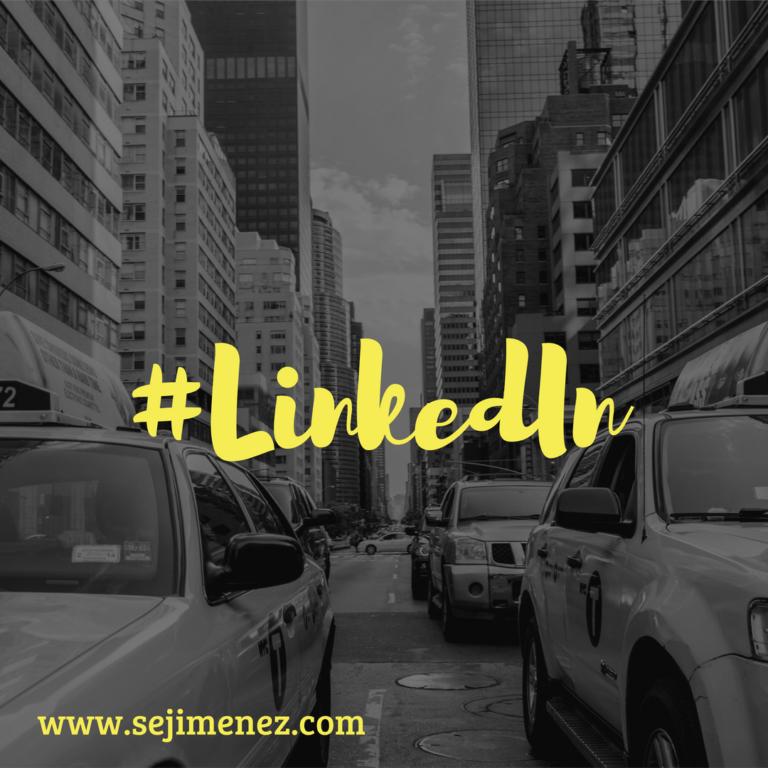 Hashtag en LinkedIn