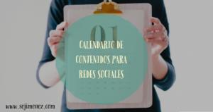 calendario contenidos redes sociales sejimenez 2019