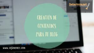 redactar contenidos para tu blog